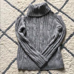 Grey Open shoulder sweater